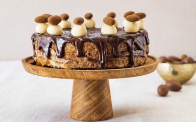 CHOCOLATE SIMNEL CAKE