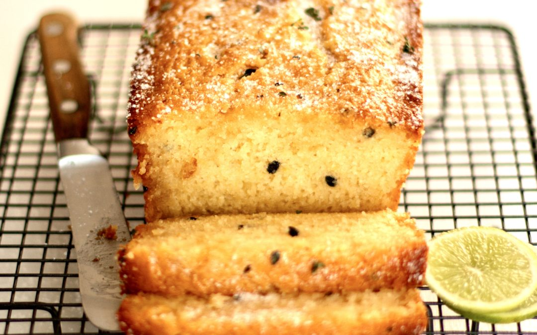 PASSIONFRUIT, LIME AND THYME LOAF