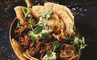 BEEF MINCE CURRY WITH RED KIDNEY BEANS